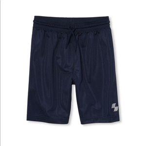 NWT PLACE Boys Blue Gym Basketball Shorts M (7/8)